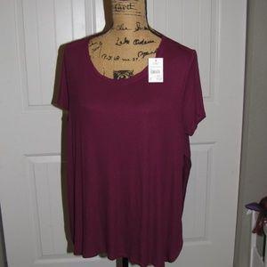New NWT Cato XL Short Sleeve Shirt XL